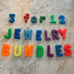 🌈🦄3 for $12 Jewelry Bundle— listings $10 & under